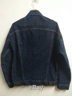Vintage Levi's jeans jacket Snow Made in Usa Skinhead Workwear Working Class Jacket