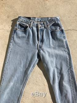 Vintage Levis 501 Button Fly 27