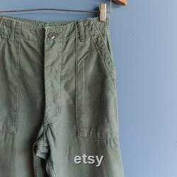 Vintage Military Trousers OG 107 Cotton Army Pants Utility Pants