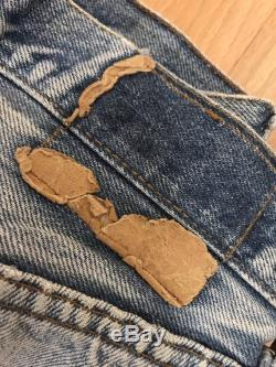 Vtg 70s levis selvedge 501s blue made in USA