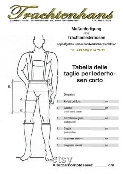We manufacture your leather trousers to measure Semic deer leather trousers Scharnstein in a vintage look tailor-made