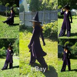 Wiccan Dress Velvet Dress with Palazzo Pants