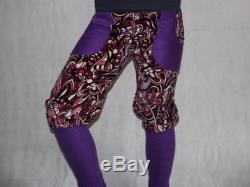 knickers Bloomers cord Pants with cuffs cord pants