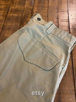 vintage C.C.Filson 100 cotton hunting pants fishing trousers made in usa size 38