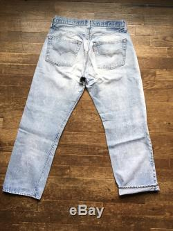 vintage levis 501 XX red line selvedge indigo denim black bar red tab silver tab blue jeans W29 L28 made in usa